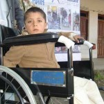 Providing wheelchair with Al Khair Foundation in lower Dir