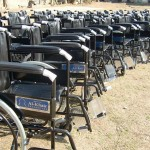 Wheel Chair Distribution