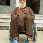 Wheelchair Provided to the Spinal cord Patient from Chakdara